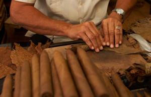 cuban cigar rolling