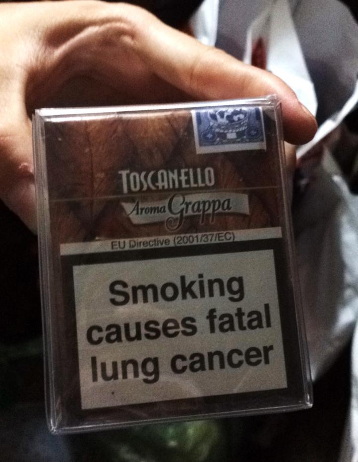 Xì gà Toscanello Aroma Grappa